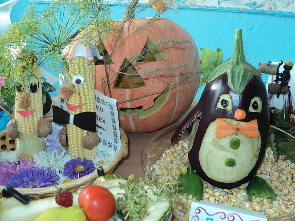 Поделки из овощей на выставку в школу своими руками фото